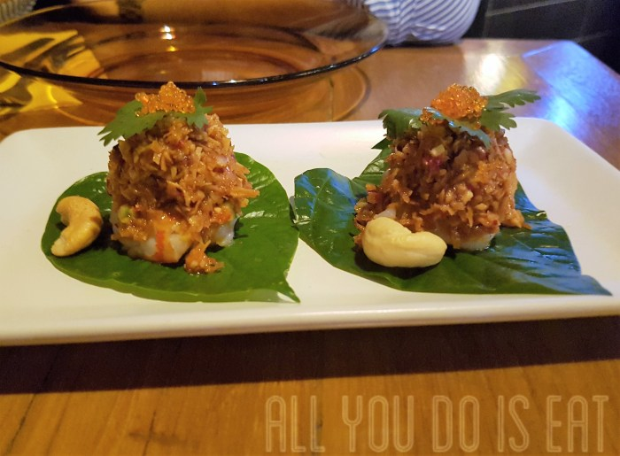 Ohbar Thai Prawn and Betel Leaf