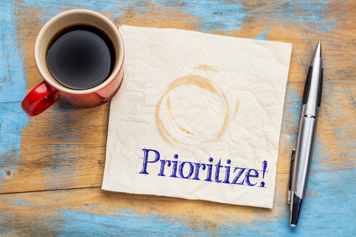 Prioritize Plan qualities!