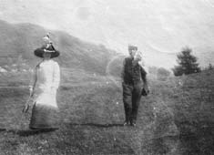Alma und Gustav Mahler in Toblach