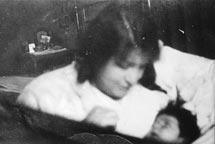 Alma Mahler mit Anna