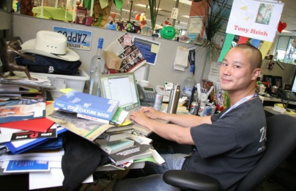 Tony Hsieh, CEO of Zappos,