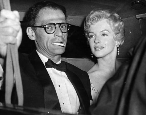 Miller and Marilyn