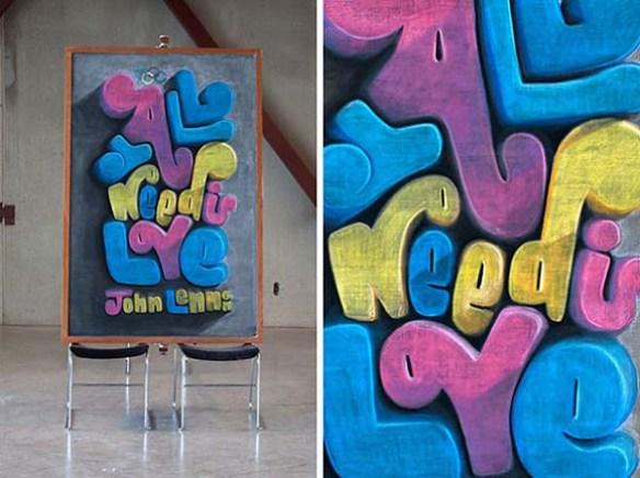 Chalkboard art 2