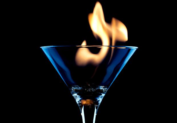 Burnt brandy