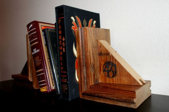 Bradbury bookends