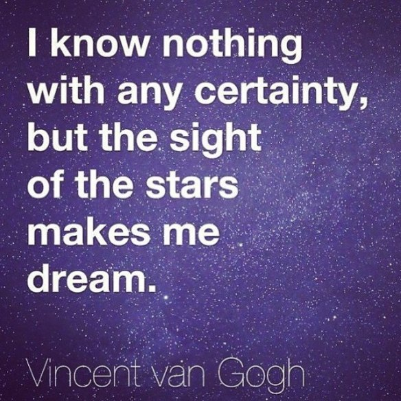 QUOTE Vincent van Gogh