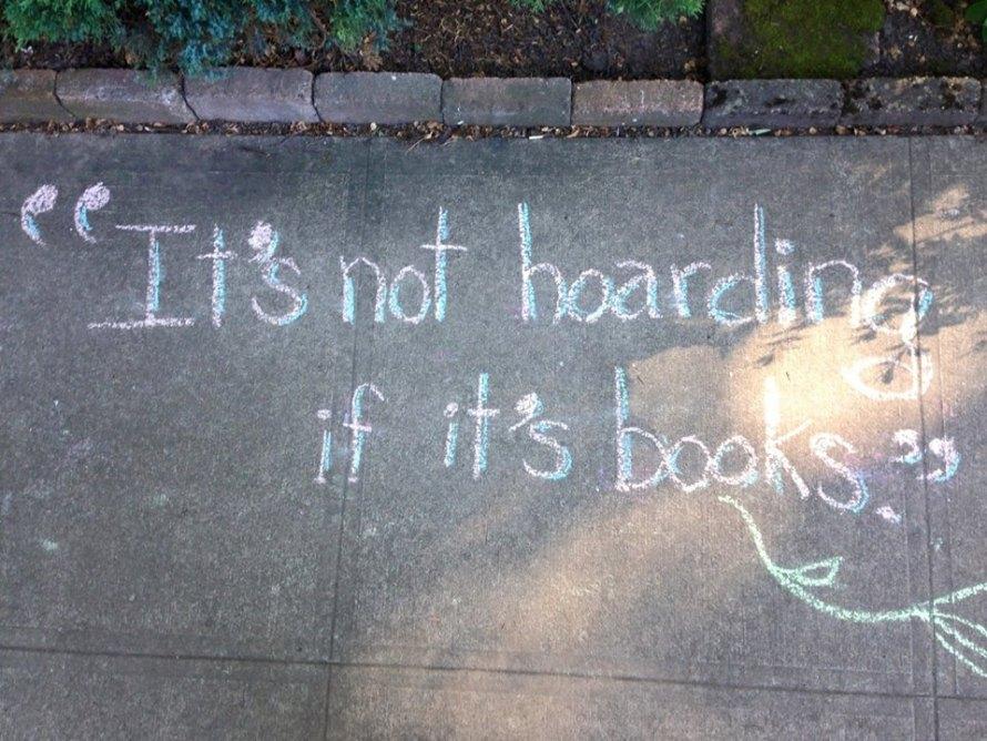 QUOTE not hoarding