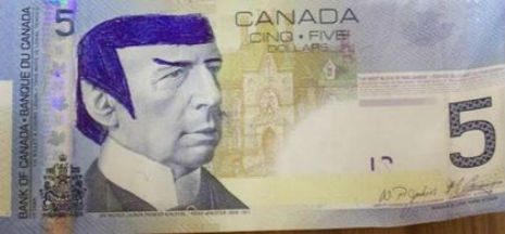 Spock $5