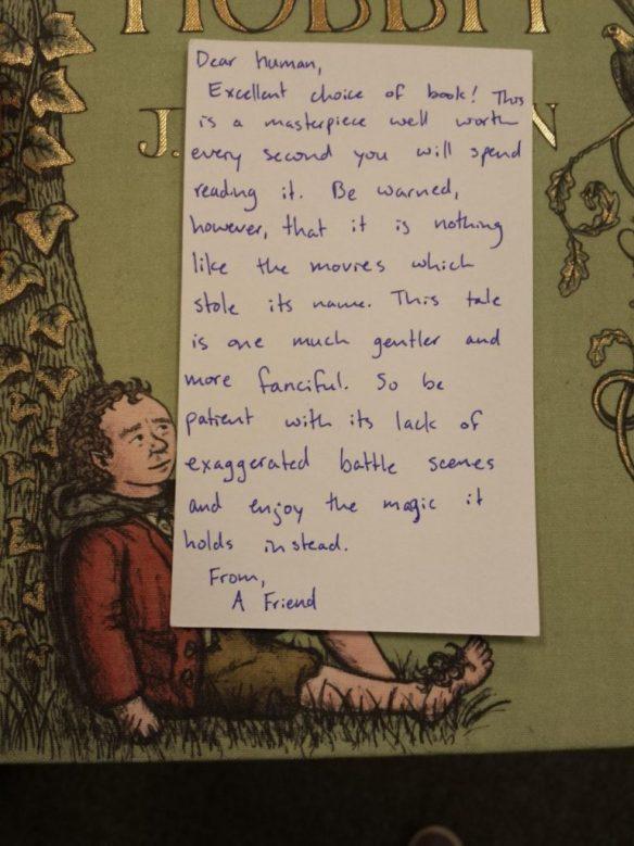 Hobbit Note