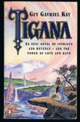 Tigana By Guy Gavriel Kay cover