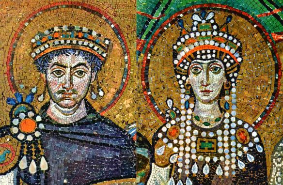 Justinian And Theodora mosaic
