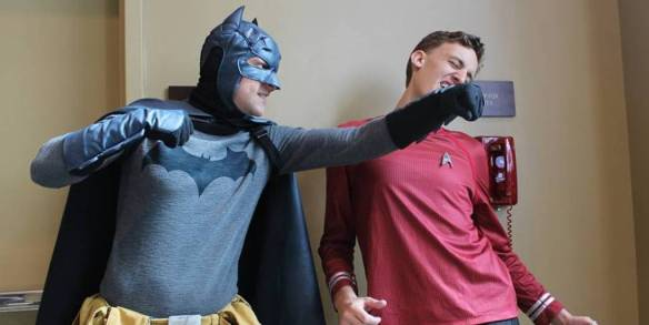 Batman and the Redshirt photo