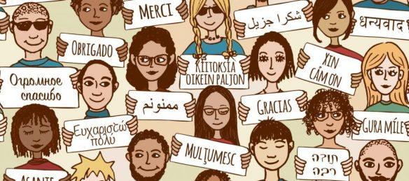 Language Marks illustration