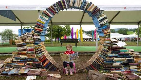 Hay On Wye, bookstore photo