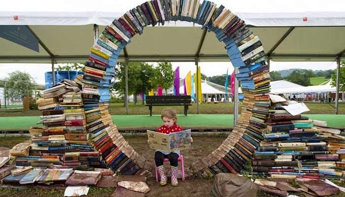 Hay On Wye, bookstore photo