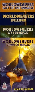 Worldweavers covers