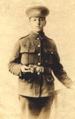 Thomas Bennett in uniform