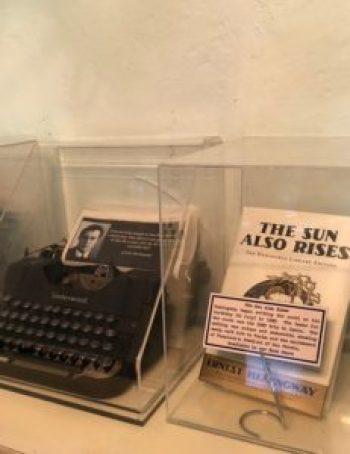 Photo of Hemingwats typewriter