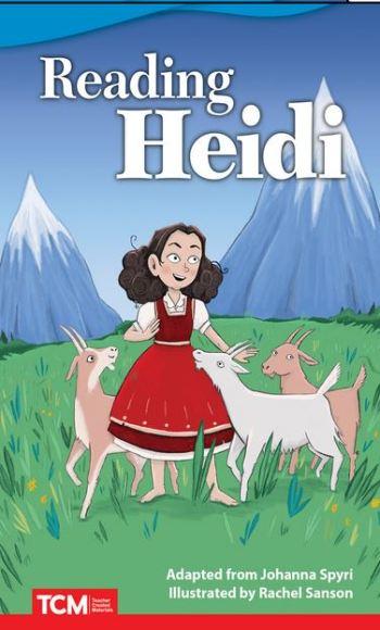 Reading Heidi poster