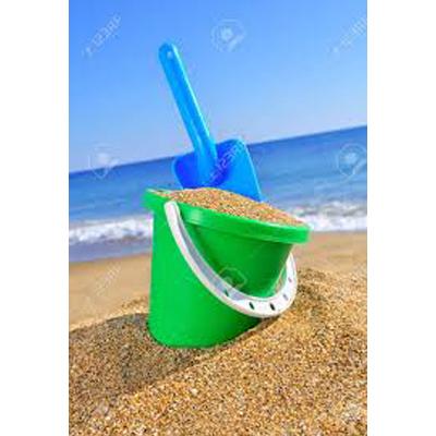 Cubo y pala playa