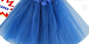 Tutu disfraz azul