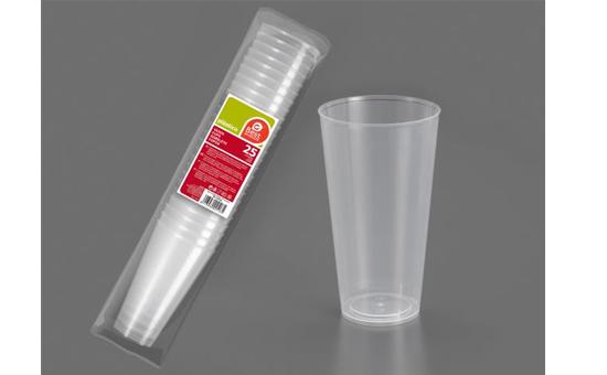 Vaso grande de plastico