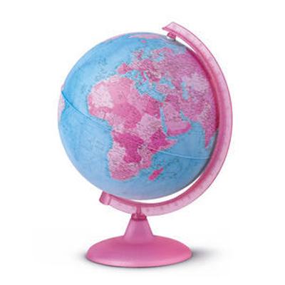 Esfera mundo rosa