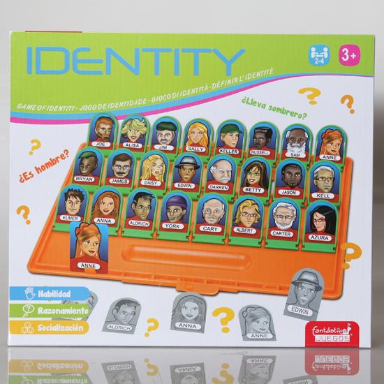 Juego de identidad 2 personas