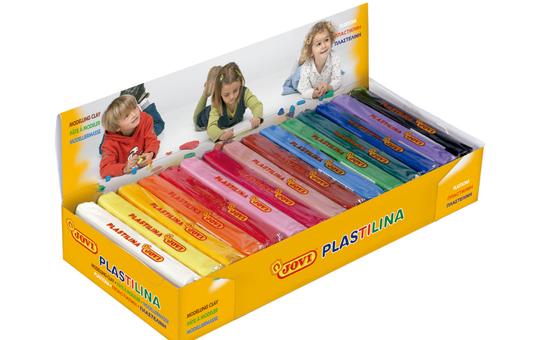 Plastilina, 15 unidades, colores surtidos, 150 gramos