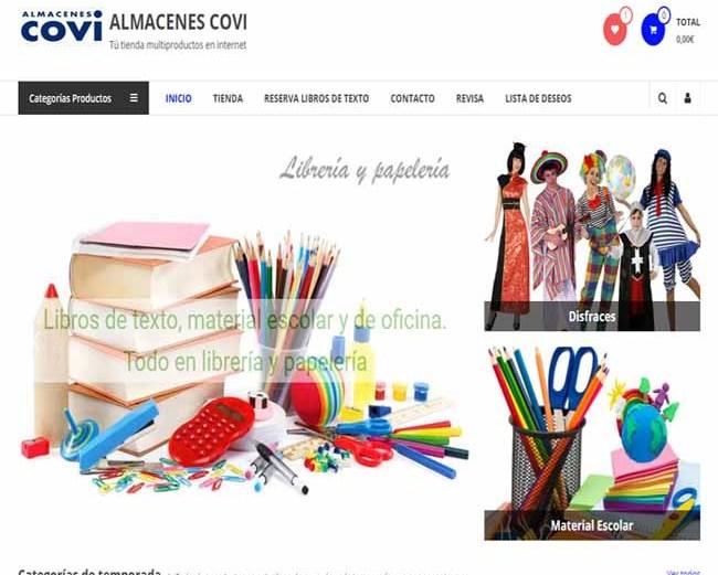 Nueva imagen de nuestra tienda online