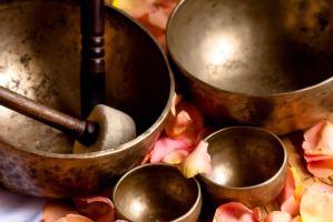 Cuencos tibetanos, terapia vibracional