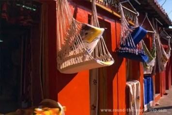 Loja de redes artesanais em Arraial d'Ajud