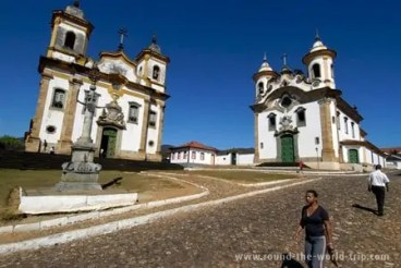 Praça Minas Gerais, em Mariana