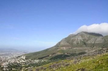 Vista da Cidade do Cabo, África do Sul