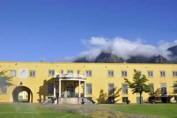 Pátio interior do Castelo da Boa Esperança, uma das atrações turísticas da Cidade do Cabo