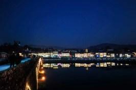 Ponte de Lima à noite