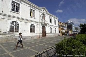 Uma das principais praças do Plateau, o centro histórico da Praia