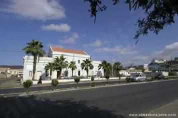 Edifício do Arquivo Histórico Nacional, cidade da Praia, ilha de Santiago