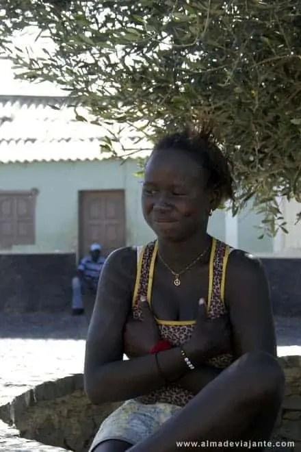 Jovem na Cidade Velha, Cabo Verde