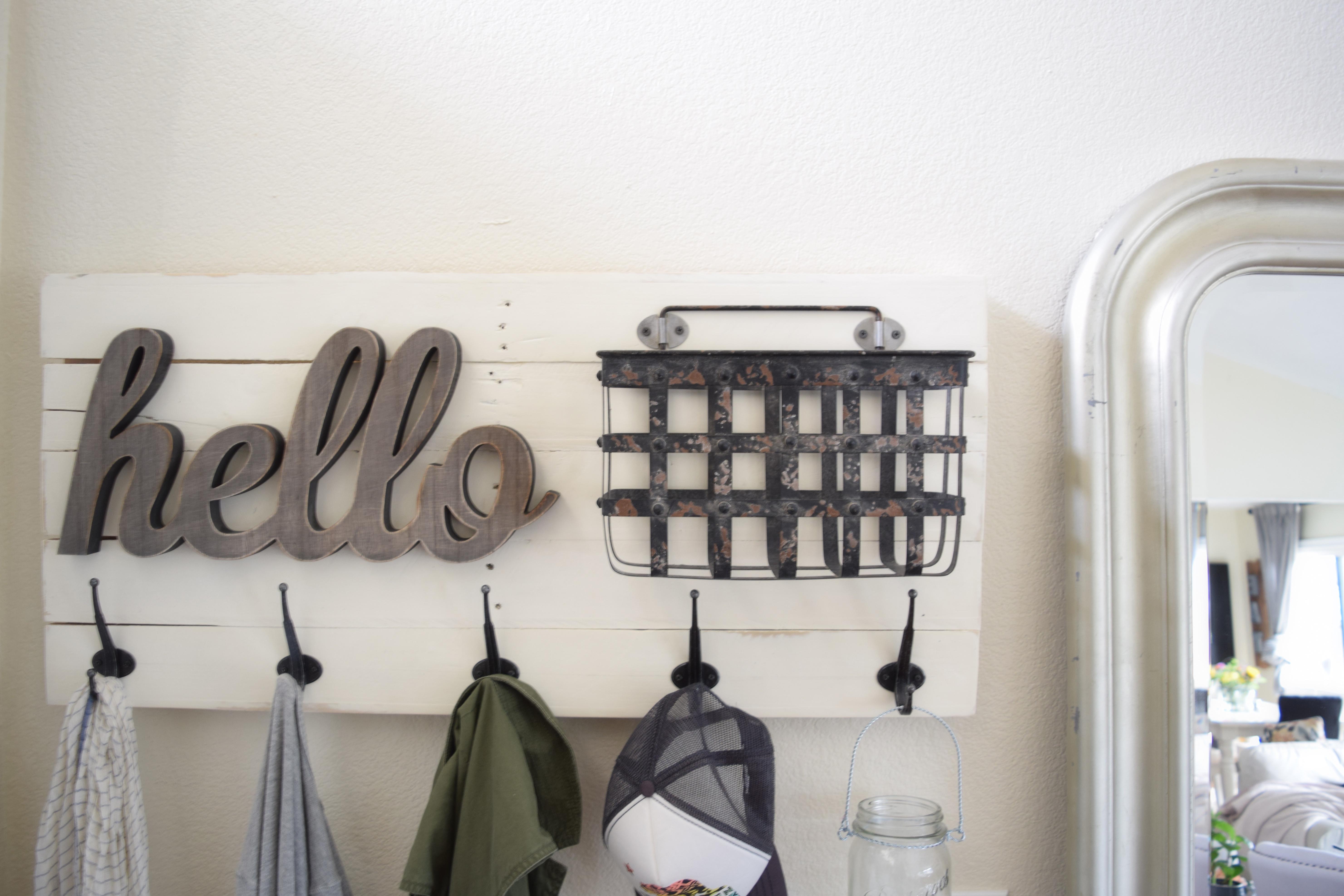 Diy Fun Personalized Wall Mounted Coat Hanger