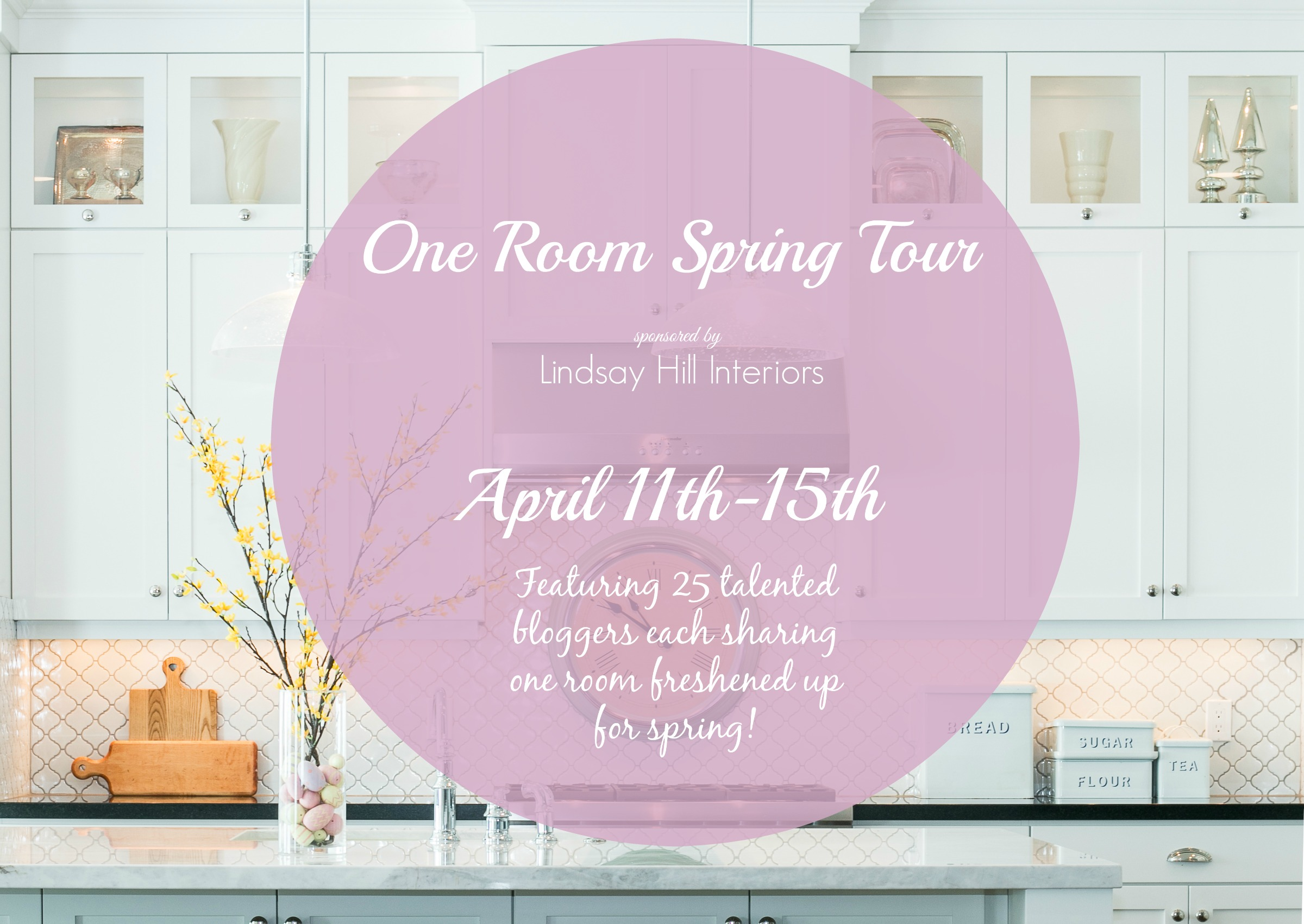 One Room Spring Tour graphic
