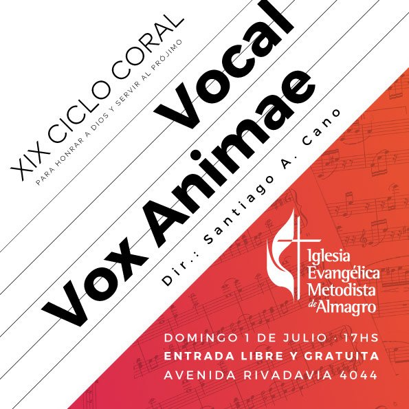 XIX Ciclo Coral – Vocal Vox Animae