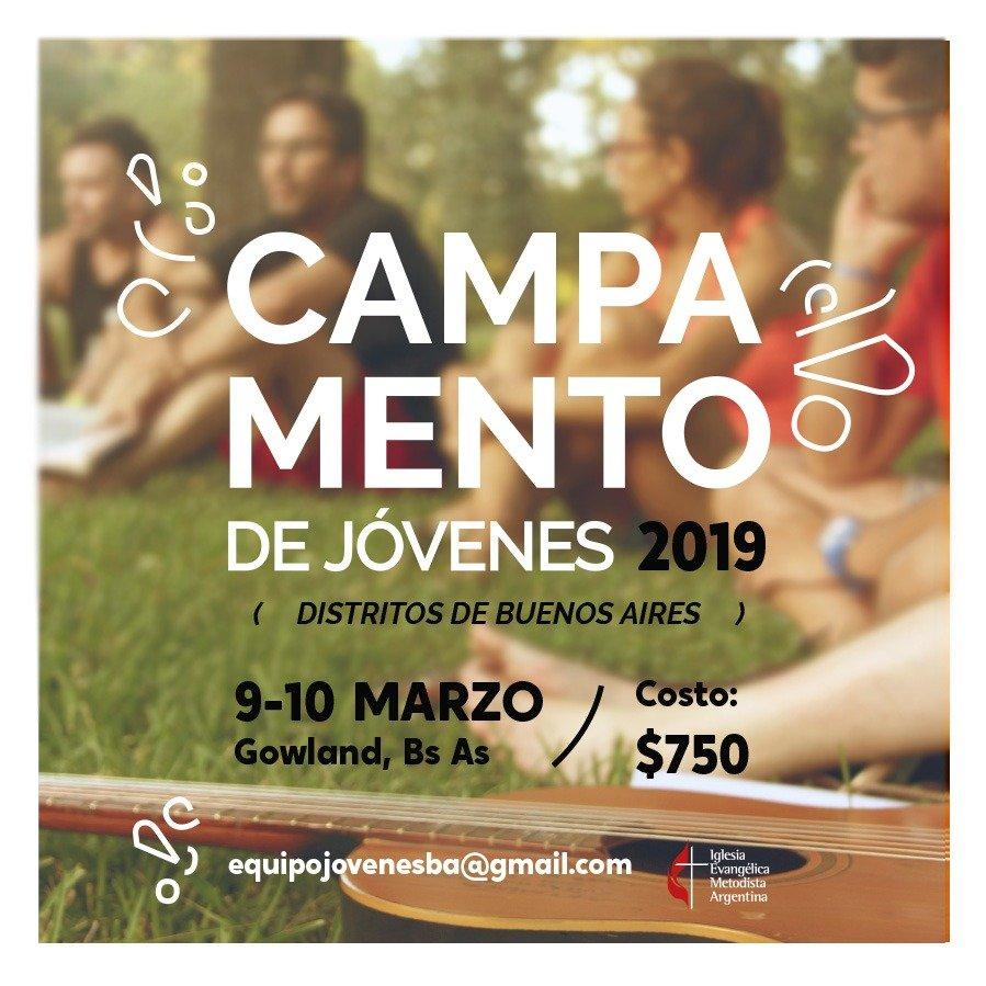 Campamento Interdistrital de Jóvenes 2019