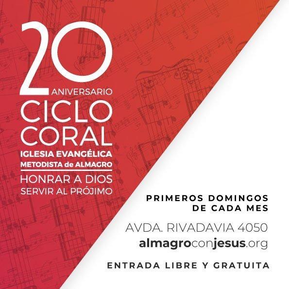 XX Ciclo Coral de la Iglesia Evangélica Metodista de Almagro