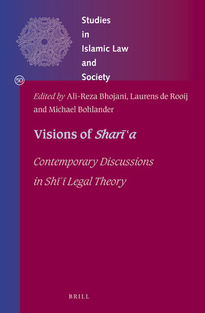 Dr Ali-reza Bhojani's  co-edited volume 'Visions of Sharīʿa: Contemporary Discussions in Shī ͑ī Legal Theory'  published by Brill