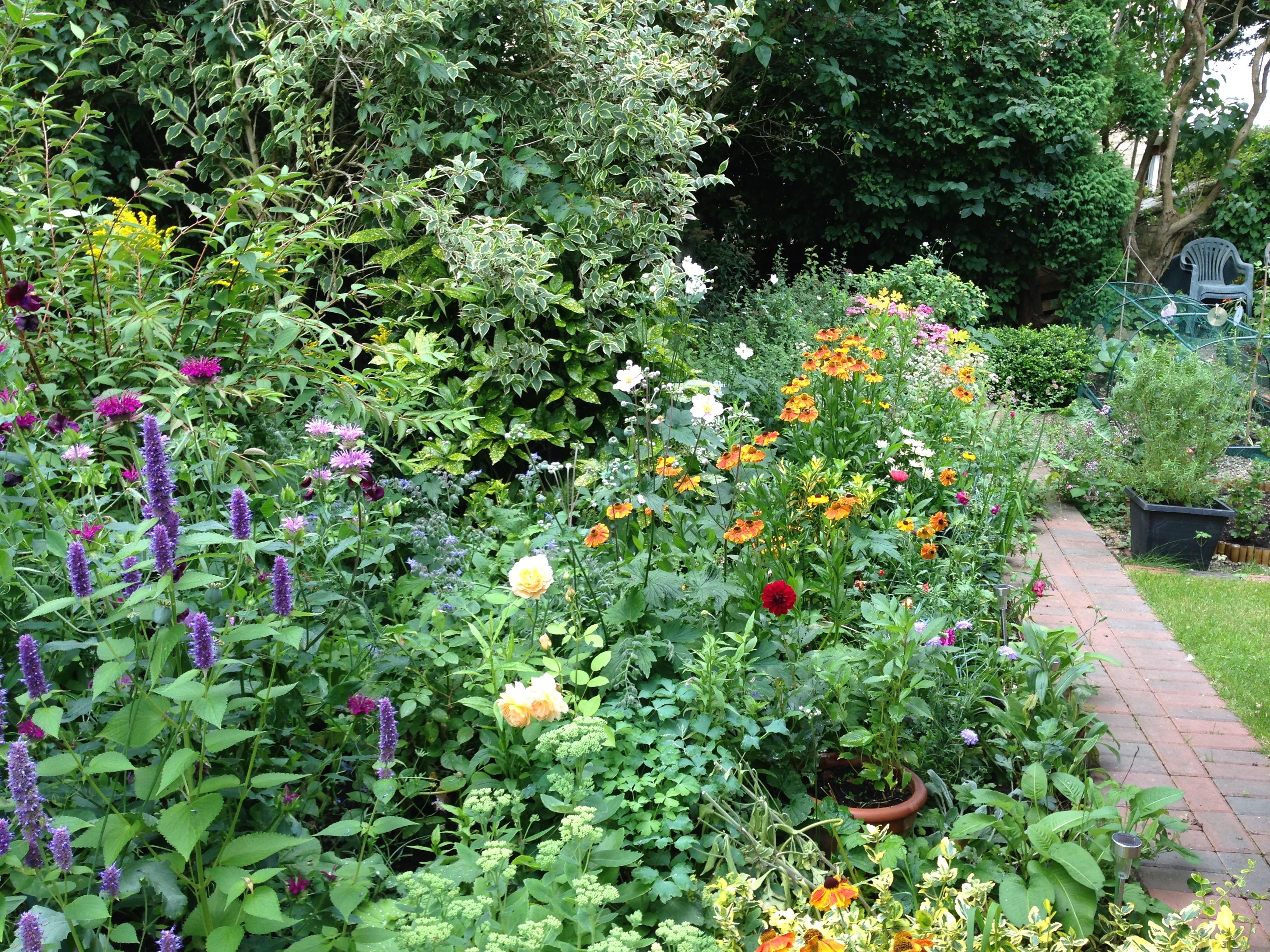 Flower Garden Plans Layouts The Old Farmer S Almanac