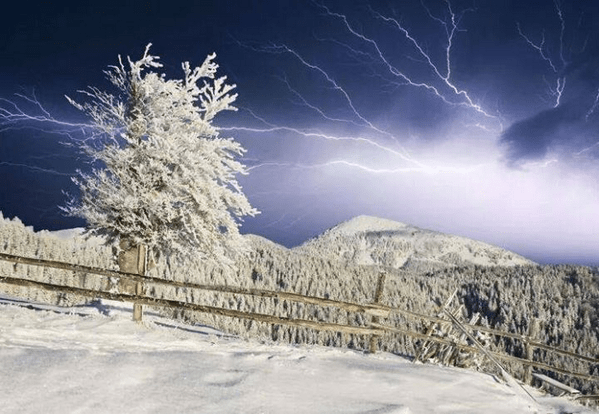 Thundersnow Freezing Temperatures 50 States The Old