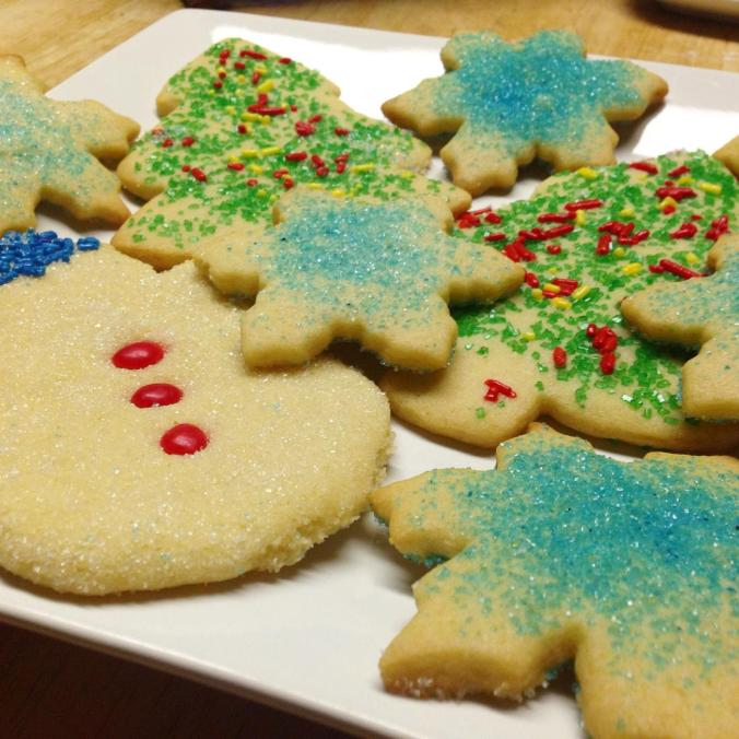 Recipe for Christmas Cookies