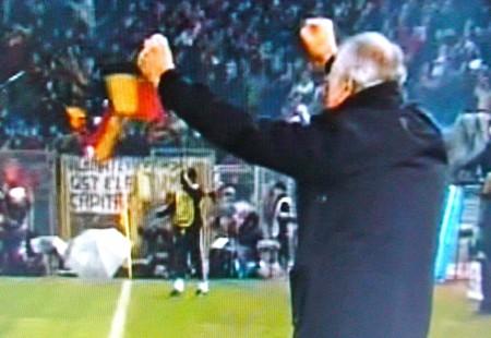 Ranieri esulta