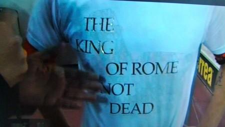 The King of Rome is not dead-Il re di Roma non è morto